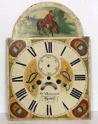 Painted Longcase Arch Dial