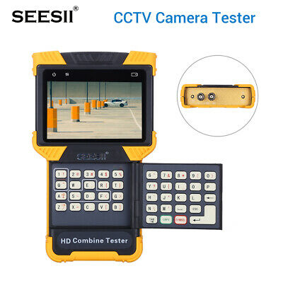 """DT-T70 4K 1080P IPC Camera Tester Analog Security Monitor Combine 4"""" PTZ Video"""