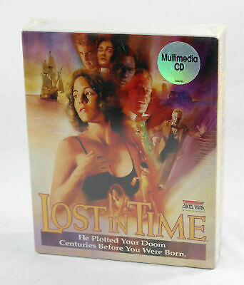 SEALED Sierra / Coktel Vision - Lost in Time -  MS-DOS CD Big Box PC 1993 NEW