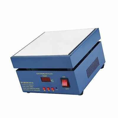 LED Microcomputer Electric Hot Plate Preheat Soldering Preheating Station Welder Hot Plate Rework Heater Lab 110V 800W 200X200mm Plate