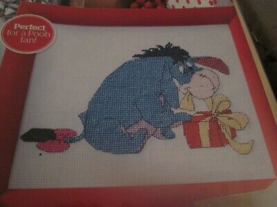 'Eeyore's Christmas' Winnie The Pooh Cross Stitch Chart Only