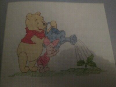 'Pooh & Piglet' Winnie The Pooh Cross Stitch Chart Only