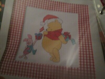'Christmas Cheer' Winnie The Pooh Cross Stitch Chart Only