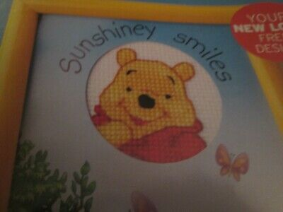 'Pooh Bear' Winnie The Pooh Small Cross Stitch Chart Only