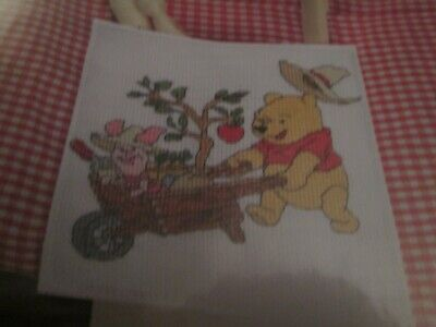 'Green Fingers' Winnie The Pooh Cross Stitch Chart Only
