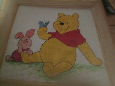 'Best Of Friends' Winnie The Pooh Cross Stitch Chart Only