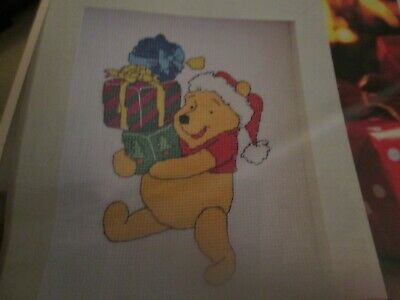 'Bearing Gifts' Winnie The Pooh Cross Stitch Chart Only