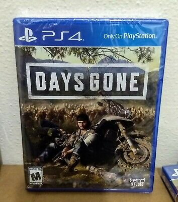 Days Gone PS4 (Sony PlayStation 4, 2019) Brand New & Sealed