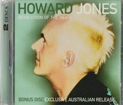 C.d.music I272      Howard Jones  Revolution Of The Heart  2 Disc Set