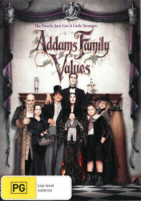 Addams Family Values  - DVD - NEW Region 4
