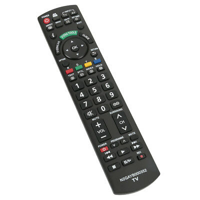 N2QAYB000352 Remote for Panasonic TV TH-P42X14A TH-P46G10A TH-P46G10A TH-P50G10A