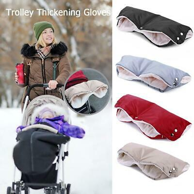 Warm Buggy Mittens Outdoor Gloves Thickened Hand Muff Heating Pad Set