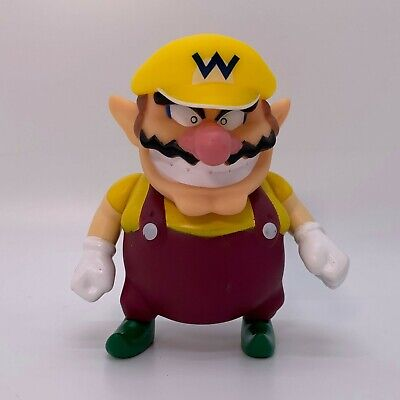 Super Mario Odyssey Wario Action Figure Toy Vinyl Doll 5""