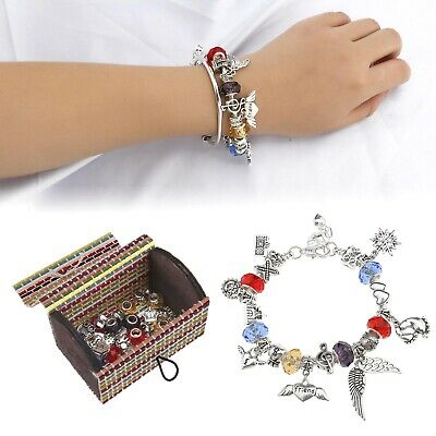 Natural Jewelry Strand Beads Colorful Bracelet Set for Women Fashion Party Gift