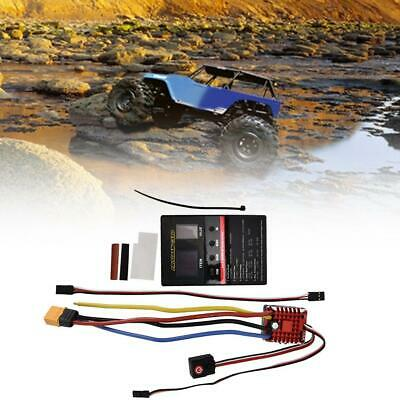 Hobbywing QuicRun 1080 80A Brushed Waterproof Motor ESC for 1/10 RC Car #GD