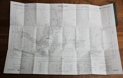 Ordnance Survey Map SD 6669-6769 Yorkshire 25 inch to 1 mile High Bentham Craven