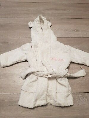 ♡♡ My first Years  Lillie Rose  White Dressing Gown♡♡ Age 0-6 Months