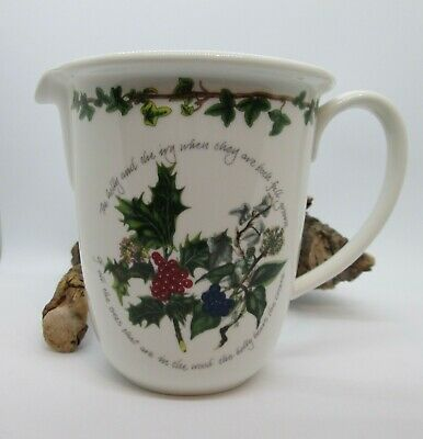 Portmeirion -  The Holly and The Ivy - Measuring Jug