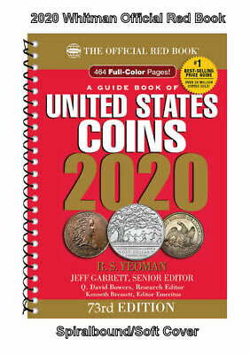 2020 Red Book Price Guide, 73rd Edition, Spiral, SHIPPING NOW!