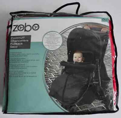 Zobo Universal Fleece Lined Footmuff Red Baby Cosytoes Buggy Liner Pushchair New