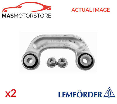 2x 30536 02 LEMFÖRDER FRONT ANTI ROLL BAR STABILISER PAIR P NEW OE REPLACEMENT