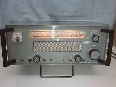 Eddystone 1002/2 Am / Shortwave / Fm Broadcast Receiver Nice Working Collectable