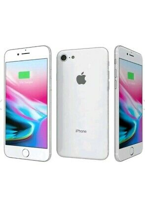 Apple iPhone 8 64GB Unlocked Smartphone Silver Grey White MDM Bybass required