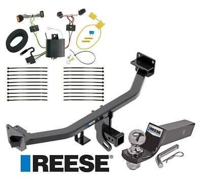 "Reese Trailer Tow Hitch For 17-19 KIA Sportage Complete Package Wiring & 2"" Ball"