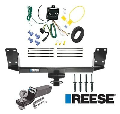 "Reese Trailer Tow Hitch For 07-18 BMW X5 Complete Package w/ Wiring and 2"" Ball"