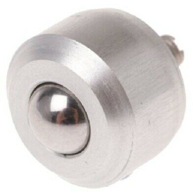 Alwayse STAINLESS STEEL BALL TRANSFER UNIT 6.4mm 10Kg Max Load, M3 6mm Stud