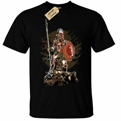 Sparta T-Shirt Mens spartan warrior greek bodybuilding