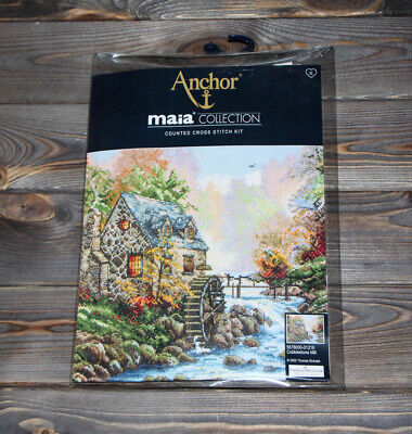 Anchor Maia Counted Cross Stitch Kit Cobblestone Mill 5678000-01216