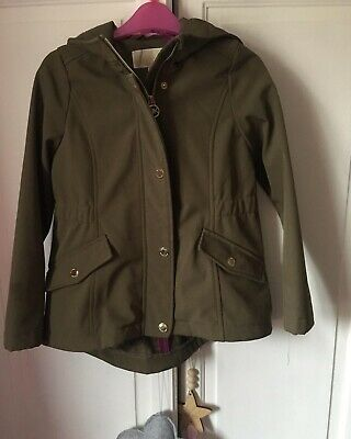 michael kors Kids Khaki Coat Girls 6-7years Winter Smart