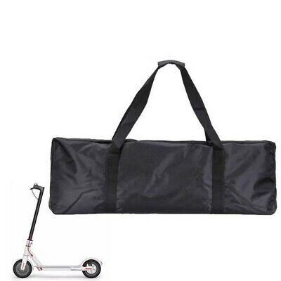 Portable Scooter Electric Skateboard Carry Bag Waterproof Oxford Cloth Black