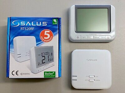 Salus RT520RF Boiler Plus Compliant 7 Day 5/2 Programmable Thermostat