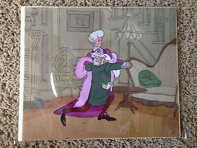 DIsney Aristocats original hand painted production animation cel cell
