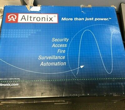 NEW Altronix AL1024ULK Power Supply/Battery Charger