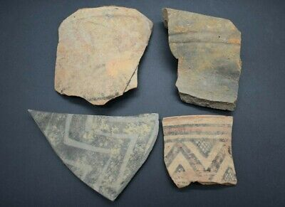 Mixed lot of ancient Bronze Age & Indus Valley pottery fragments
