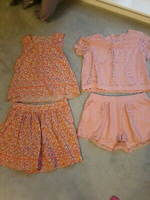 Girls Two Piece Shorts Set Age 16 Yrs By Next