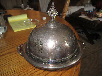 Beautiful ANTIQUE  Meriden B. Company Quadruple Plate Silverplate piece c9 4966