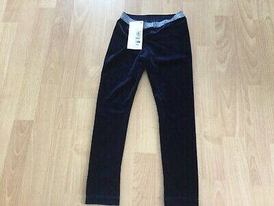 girls M and S navy blue legging new with tags age 5-6 years height 116cm