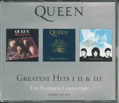 Queen - Greatest Hits I II & III - 3 CD BOX
