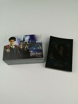 Harry Potter Prisoner of Azkaban Cards Inc Set of 72 Cards AND 17 Foil Cards