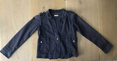 Girls Replay Navy Dark Blue Smart Military Button Style Jacket Coat Age 4 Years