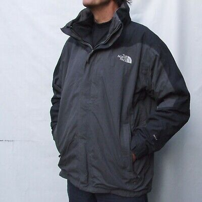 THE NORTH FACE HYVENT Nylon JACKET with POLARTEC removable Fleece Jacket  2XL