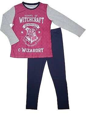 Official Harry Potter Girls Hogwarts School of Witchcraft Pyjamas 3-10 Years