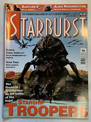 Starburst January 1998 Volume 20 No 5 Issue#233 Magazine Babylon 5