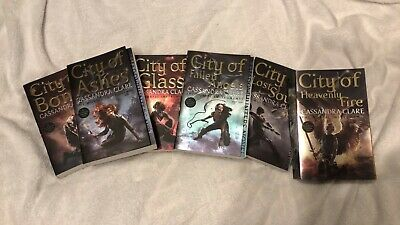 The Mortal Instruments by Cassandra Clare Entire Series