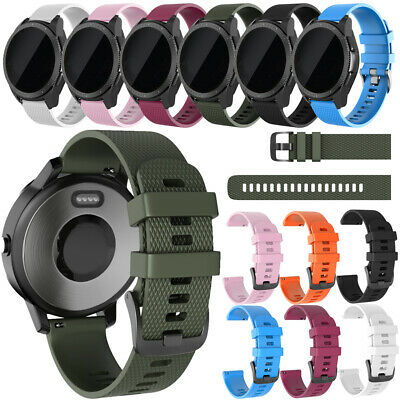 Quick Release Silicone Replacement Watch Band for Garmin Vivoactive3/Vivomove HR