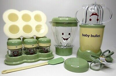 Magic Bullet Baby Bullet 18 Piece Complete Baby Food Making System